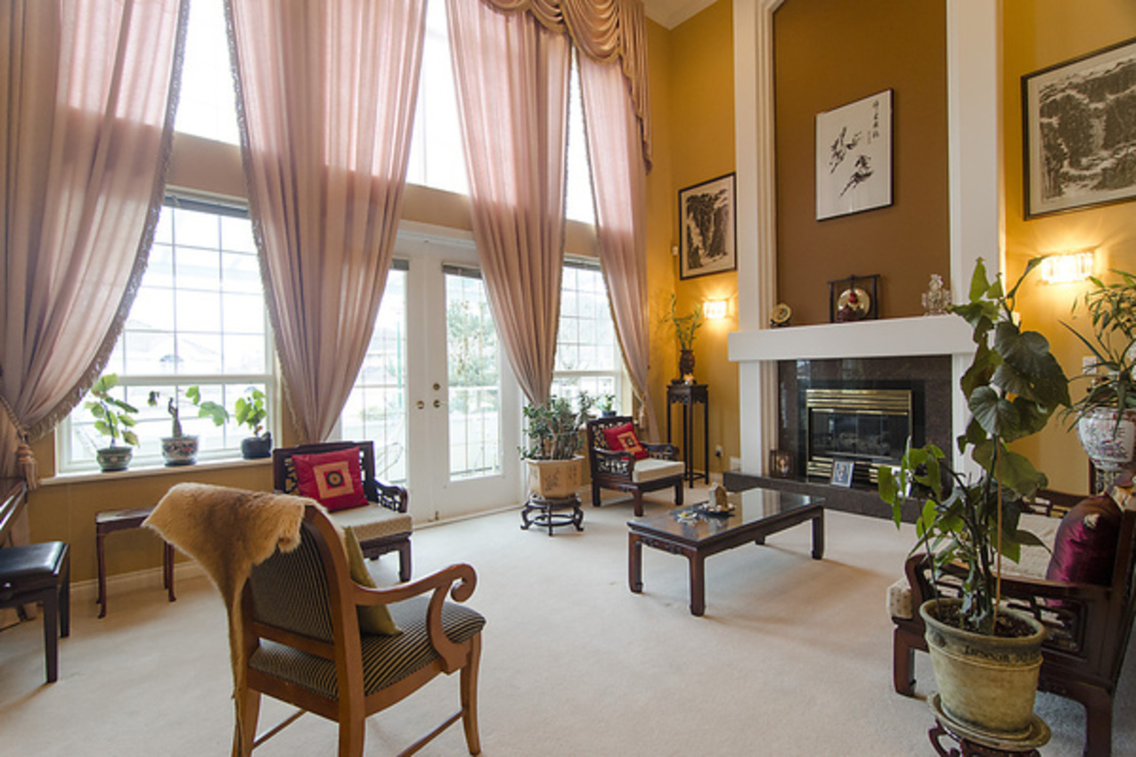 Living Room at 1559 Topaz Court, Westwood Plateau, Coquitlam