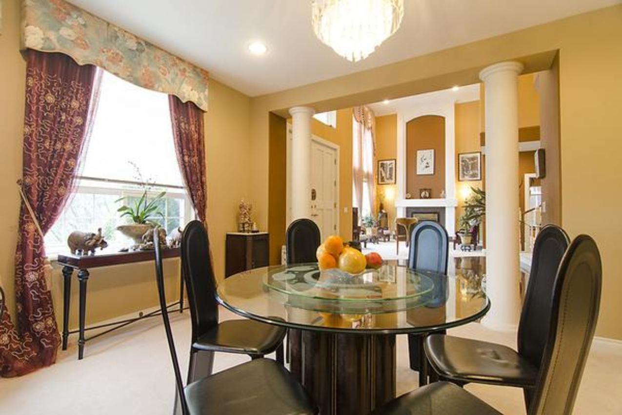 Formal Dining Room at 1559 Topaz Court, Westwood Plateau, Coquitlam