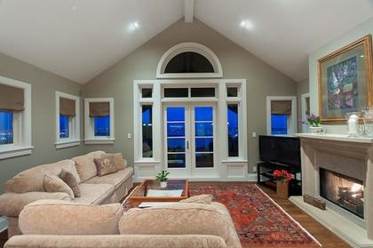 Family Room at 2378 Constantine Place, Panorama Village, West Vancouver