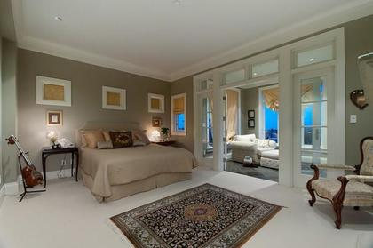Master Bedroom at 2378 Constantine Place, Panorama Village, West Vancouver