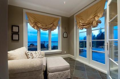 Master Sitting Area at 2378 Constantine Place, Panorama Village, West Vancouver