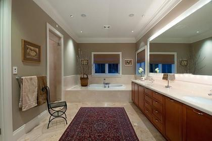 Master Bathroom at 2378 Constantine Place, Panorama Village, West Vancouver