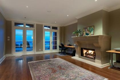 Recreation Room at 2378 Constantine Place, Panorama Village, West Vancouver