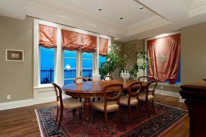 Formal Dining Room at 2378 Constantine Place, Panorama Village, West Vancouver