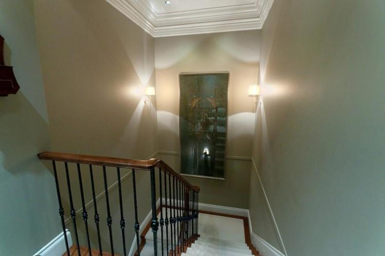 Staircase at 2378 Constantine Place, Panorama Village, West Vancouver