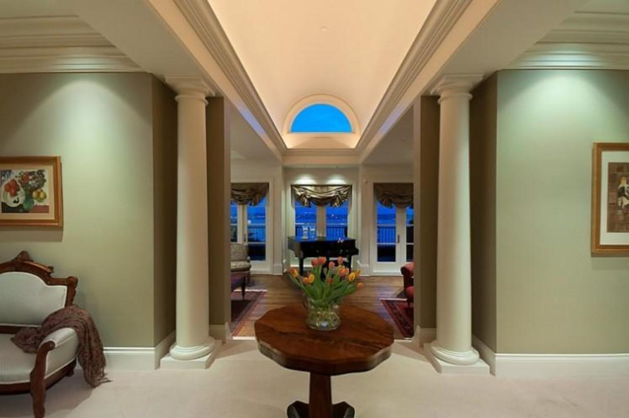 Grand Foyer at 2378 Constantine Place, Panorama Village, West Vancouver