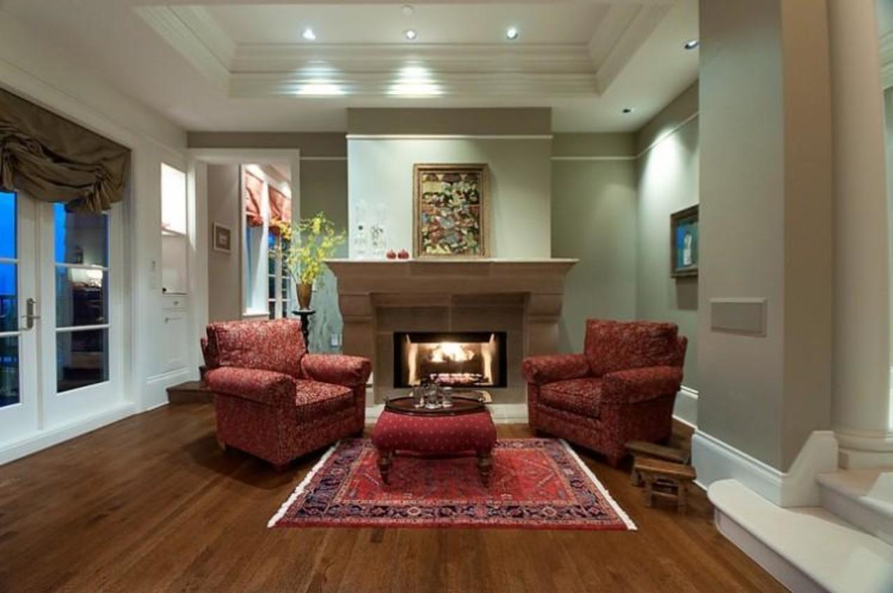 Living Room at 2378 Constantine Place, Panorama Village, West Vancouver