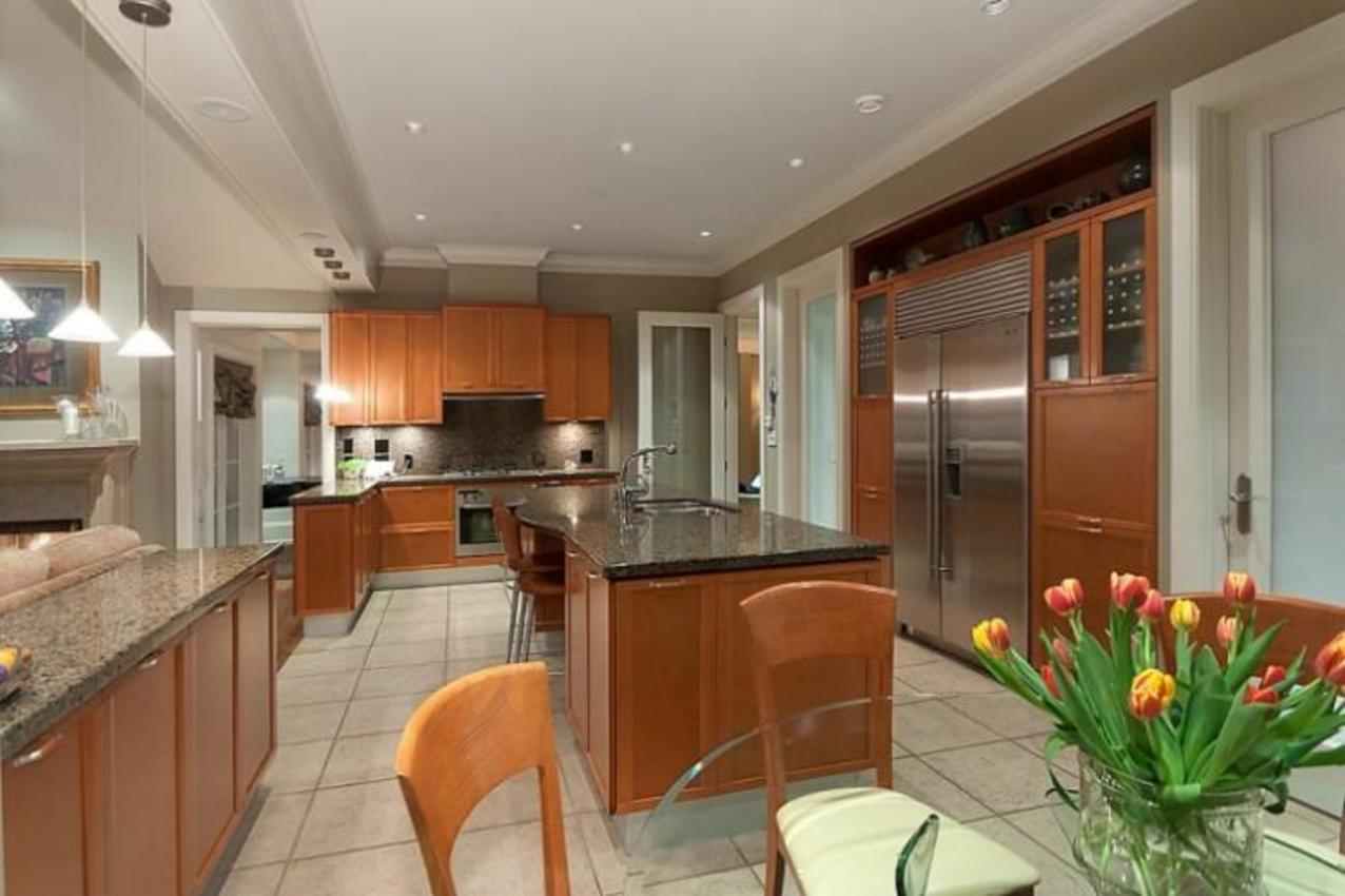 Kitchen at 2378 Constantine Place, Panorama Village, West Vancouver