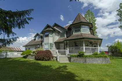 Exterior Front at 13222 Sharpe Road, North Meadows, Pitt Meadows