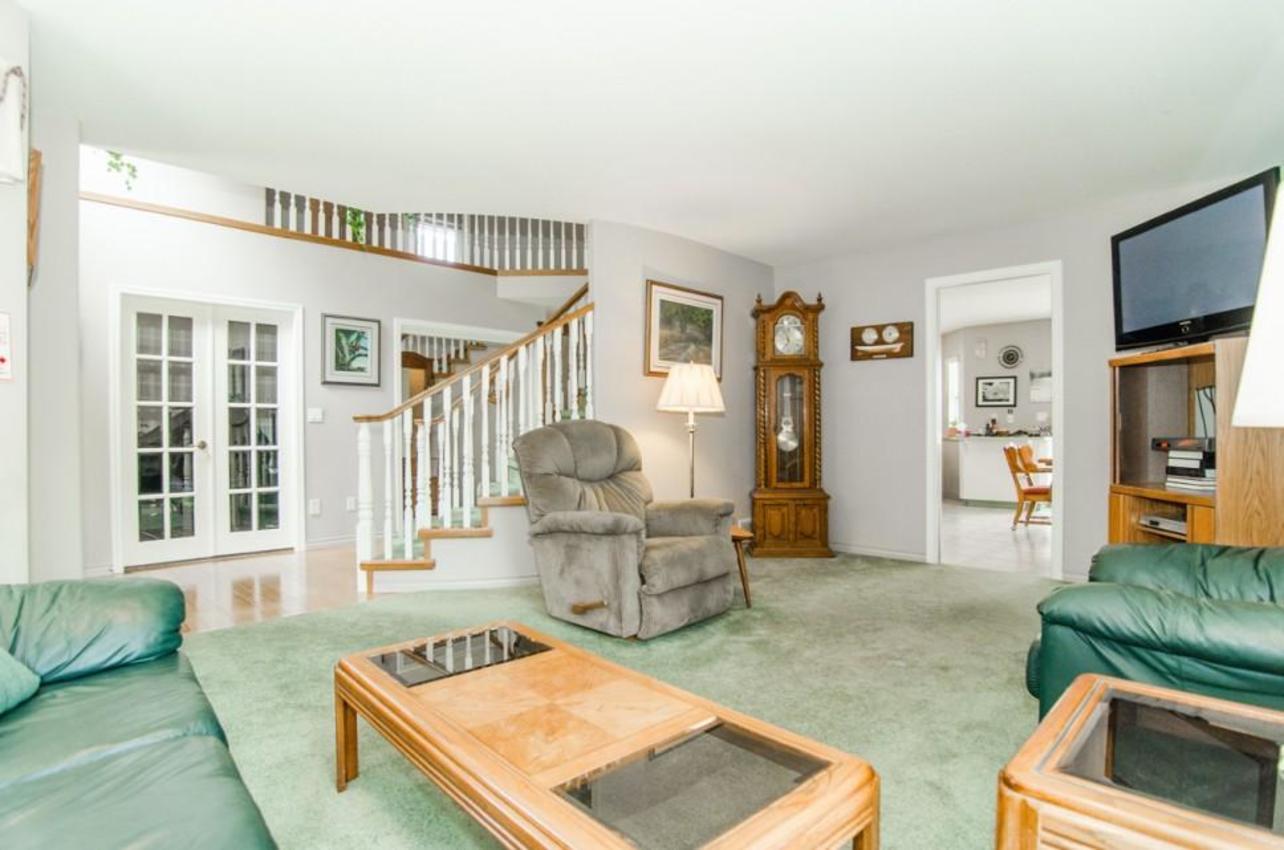 Living Room at 13222 Sharpe Road, North Meadows, Pitt Meadows