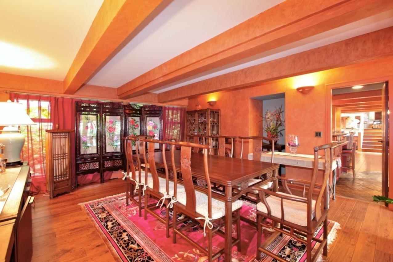 Formal Dining Room at 2927 Altamont Crescent, Altamont, West Vancouver