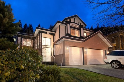 Exterior Front at 1702 Sugarpine Court, Westwood Plateau, Coquitlam