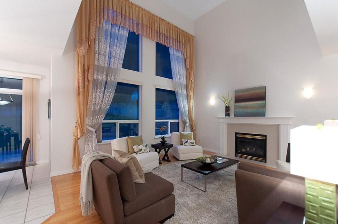Family Room at 1702 Sugarpine Court, Westwood Plateau, Coquitlam