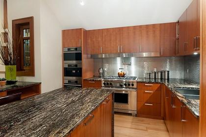 Kitchen at 937 23rd Street, Dundarave, West Vancouver