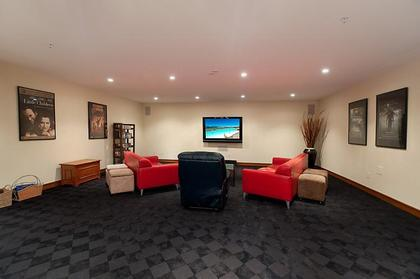 Home Theatre at 937 23rd Street, Dundarave, West Vancouver