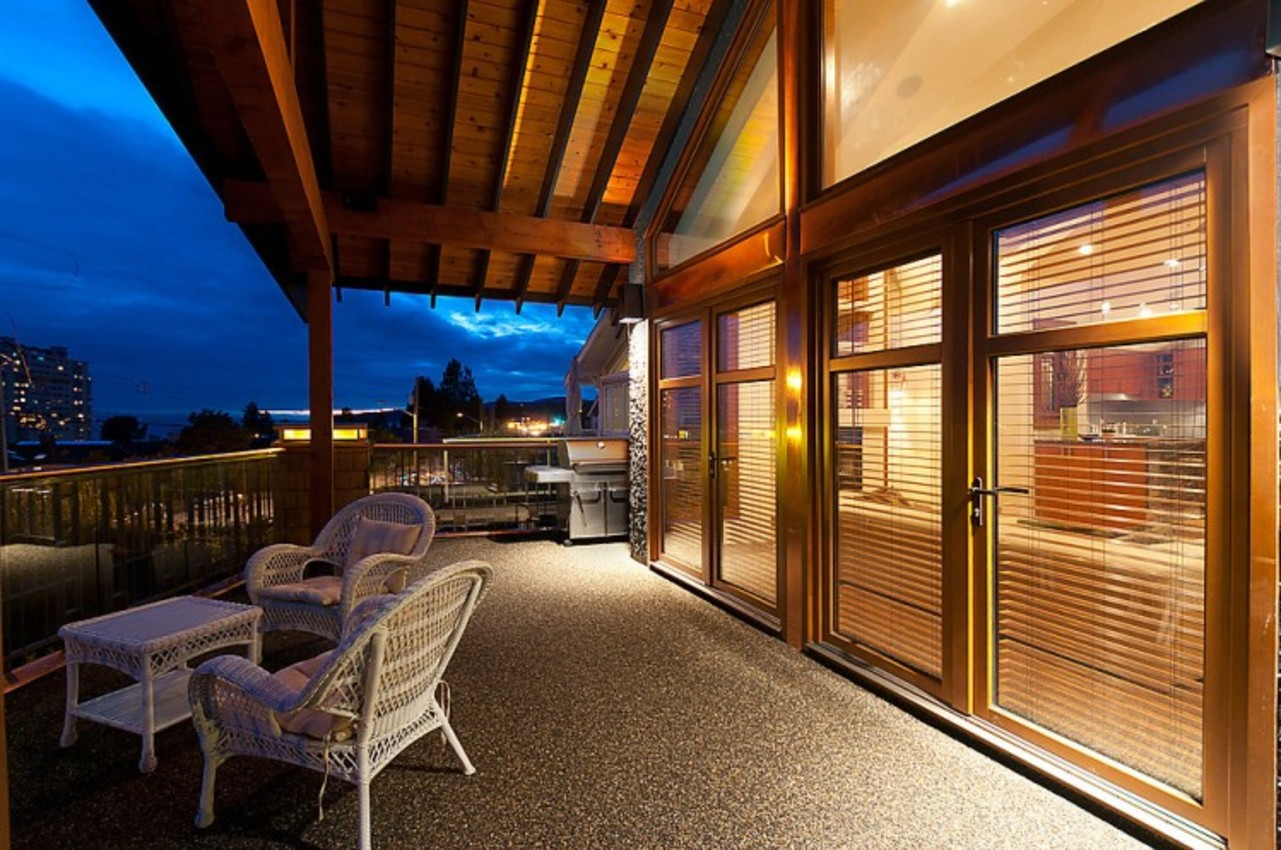 Patio at 937 23rd Street, Dundarave, West Vancouver
