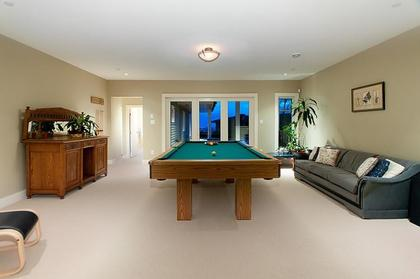 Recreational Room at 2698 Finch Hill, Canterbury WV, West Vancouver