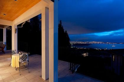 Covered Deck at 2698 Finch Hill, Canterbury WV, West Vancouver