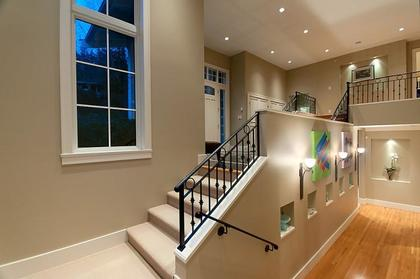 Grand Foyer at 2698 Finch Hill, Canterbury WV, West Vancouver