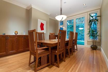 Formal Dining Room  at 2698 Finch Hill, Canterbury WV, West Vancouver