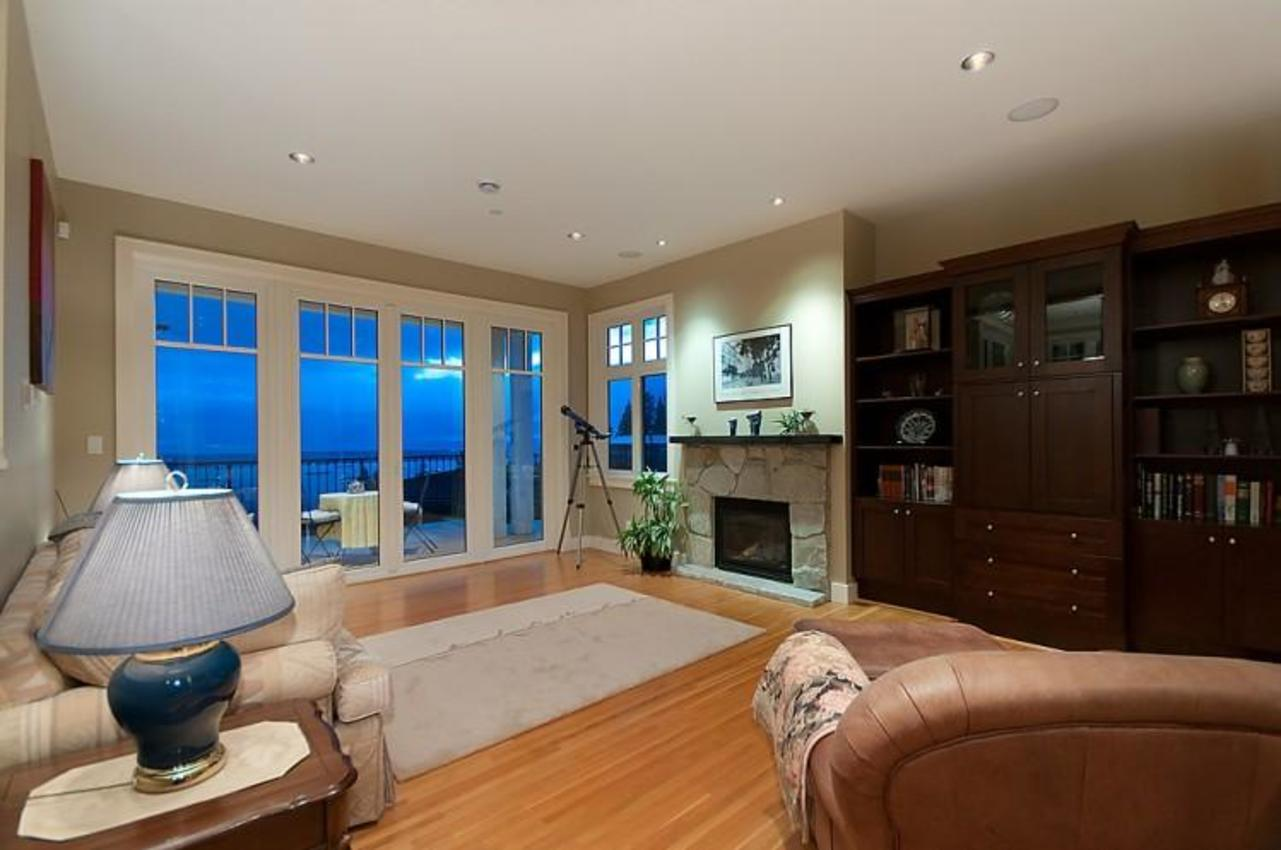 Family Room at 2698 Finch Hill, Canterbury WV, West Vancouver