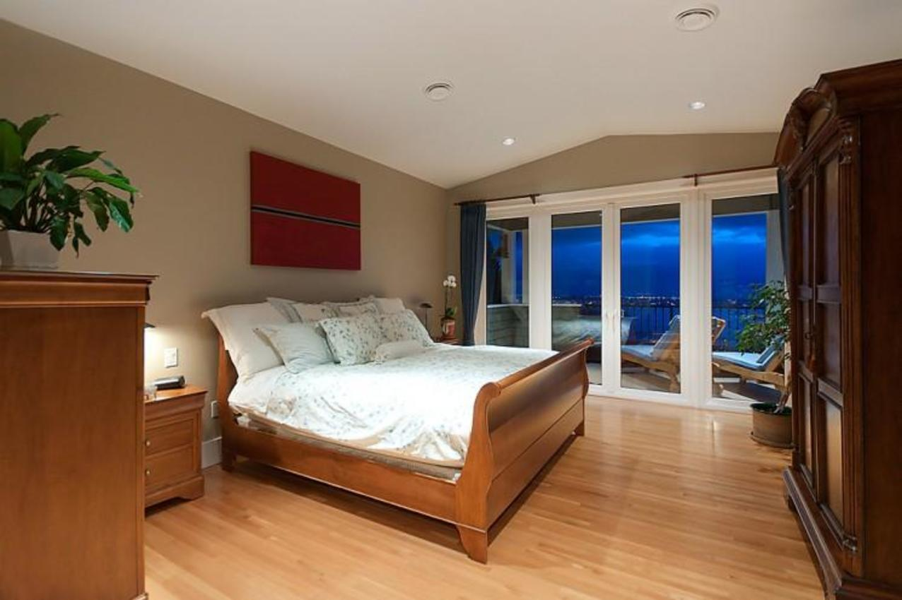 Master Bedroom at 2698 Finch Hill, Canterbury WV, West Vancouver