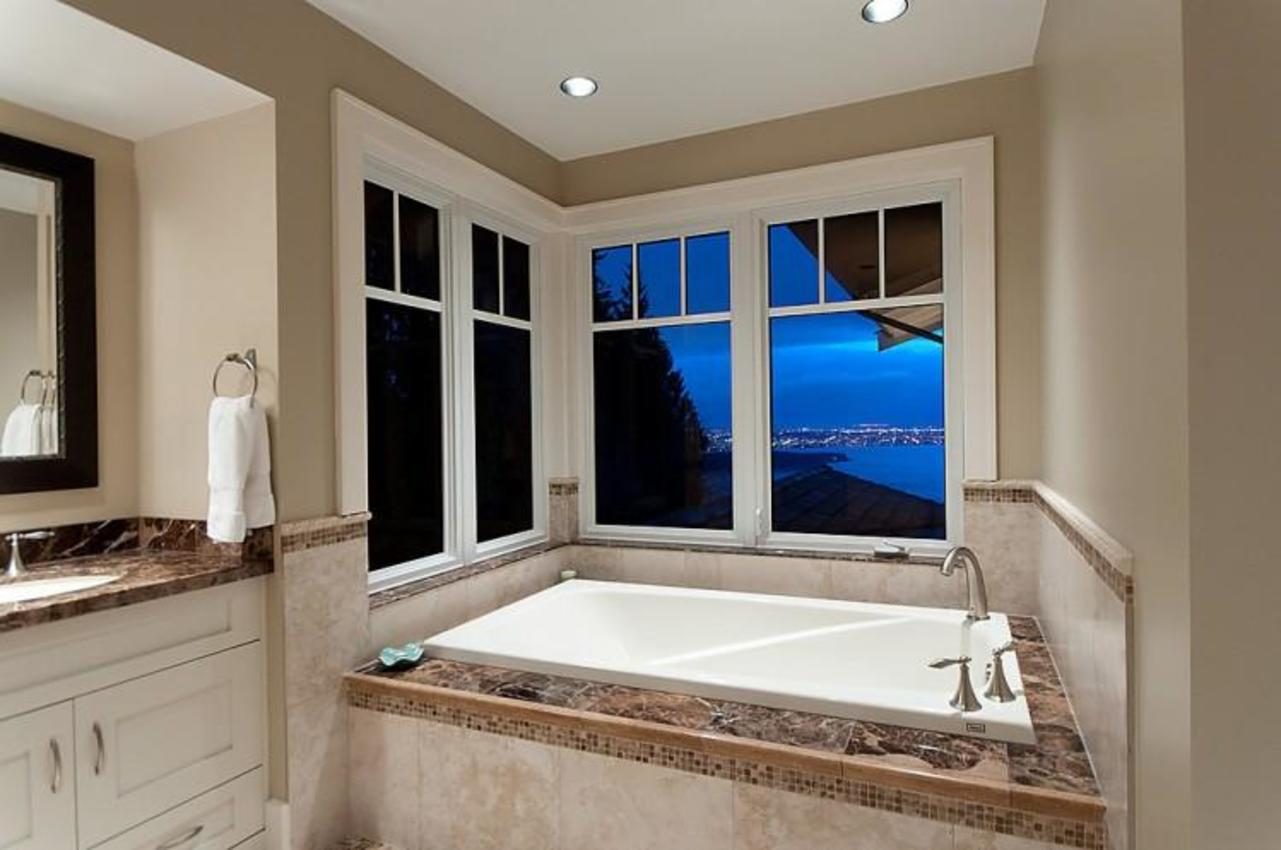 Master Bathroom at 2698 Finch Hill, Canterbury WV, West Vancouver
