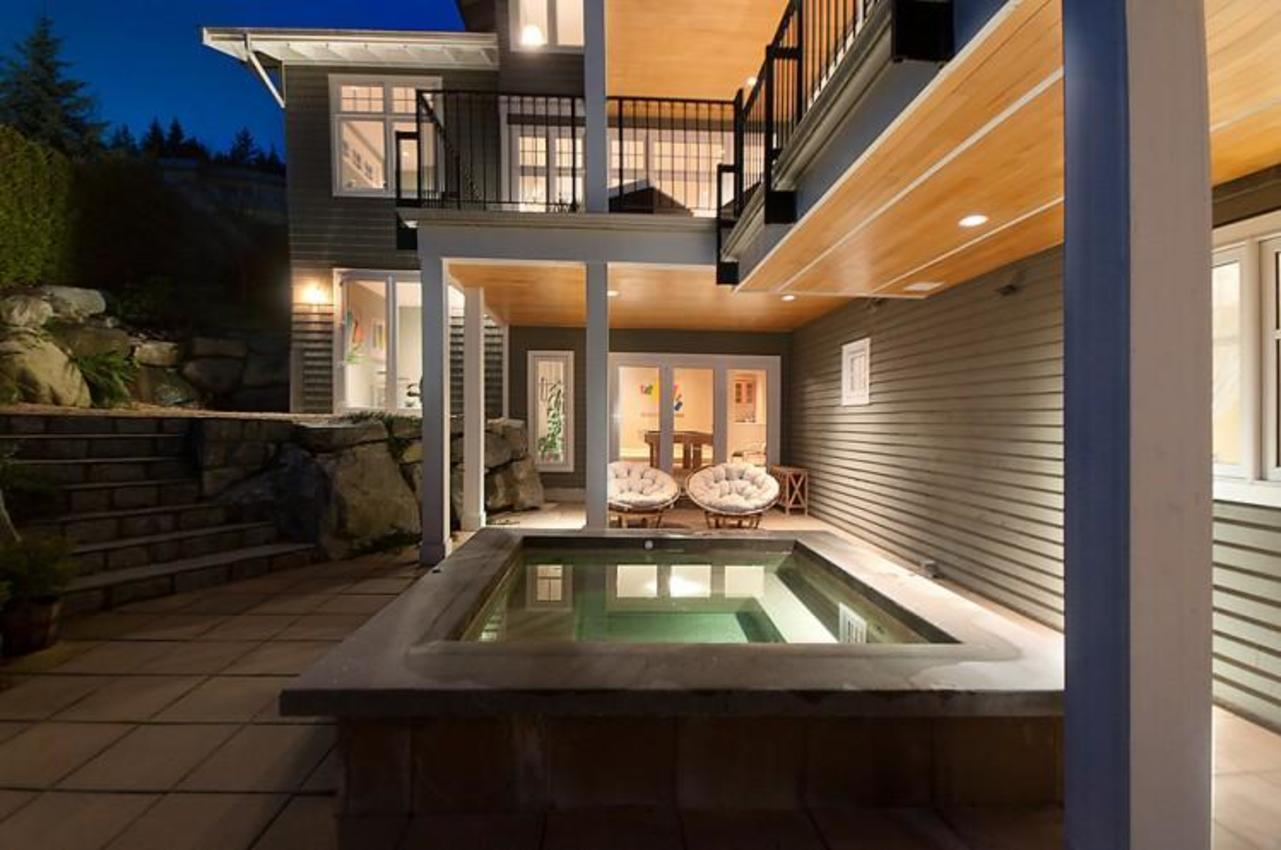 Hot Tub at 2698 Finch Hill, Canterbury WV, West Vancouver