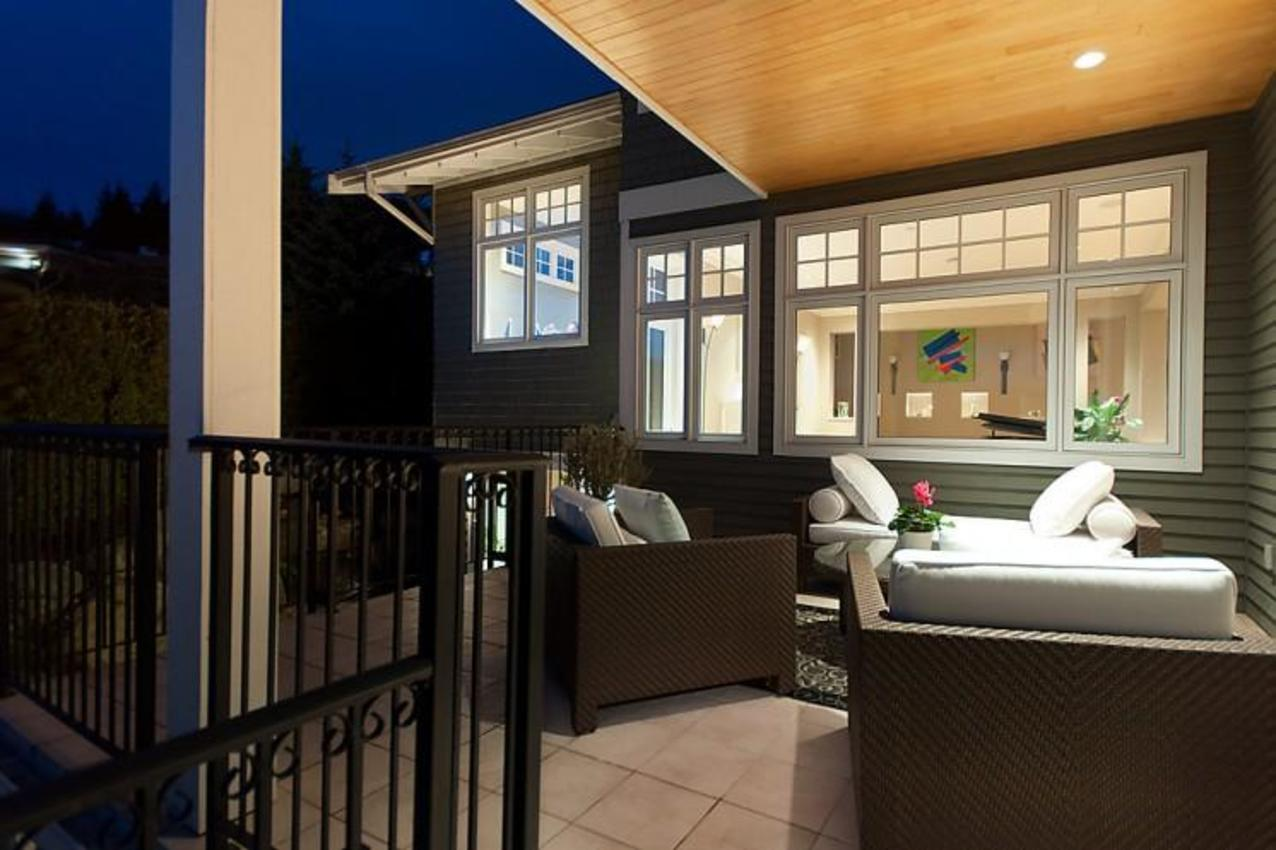 Outdoor Seating  at 2698 Finch Hill, Canterbury WV, West Vancouver