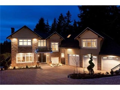 Exterior Front  at 760 Eyremount Drive, British Properties, West Vancouver