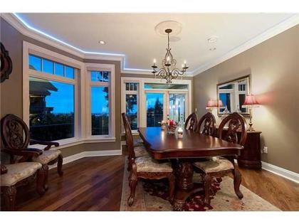 Formal Dining Room at 760 Eyremount Drive, British Properties, West Vancouver