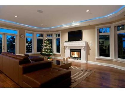 Family Room at 760 Eyremount Drive, British Properties, West Vancouver