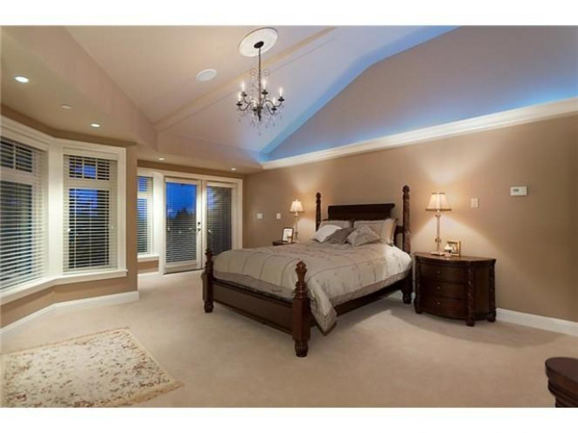 Master Bedroom at 760 Eyremount Drive, British Properties, West Vancouver