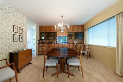 Formal Dining Room at 969 Groveland Road, British Properties, West Vancouver