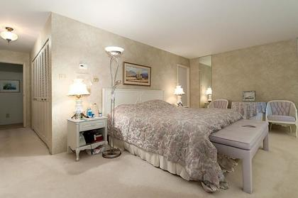 Master Bedroom at 969 Groveland Road, British Properties, West Vancouver