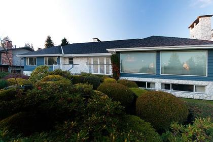 Exterior Front at 969 Groveland Road, British Properties, West Vancouver