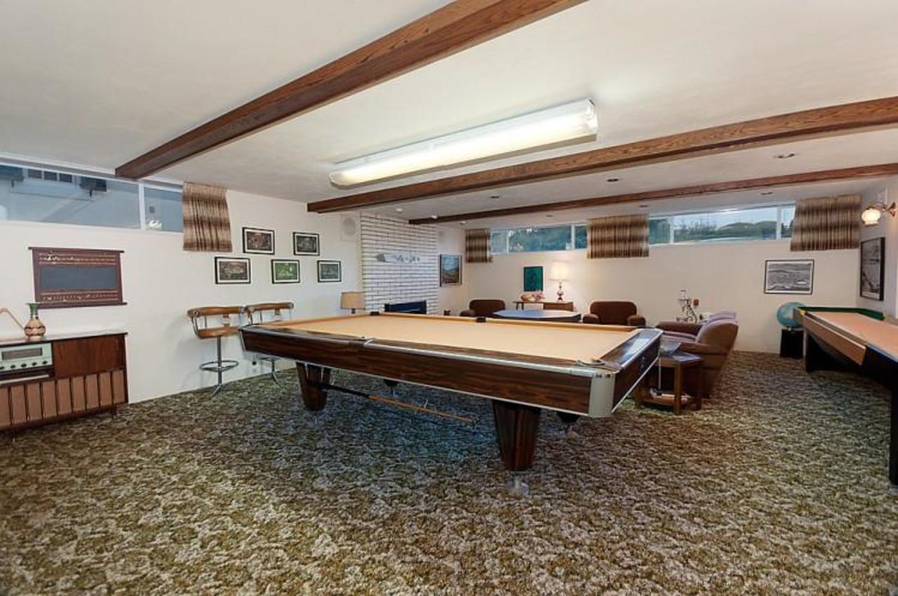 Recreational Room at 969 Groveland Road, British Properties, West Vancouver