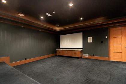 Home Theater at 3375 Craigend Road, Westmount WV, West Vancouver