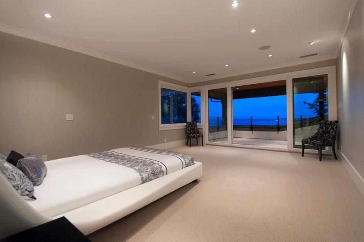 Master Bedroom at 3375 Craigend Road, Westmount WV, West Vancouver