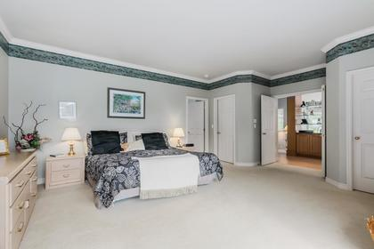Master Bedroom at 4759 Headland Drive, Caulfeild, West Vancouver