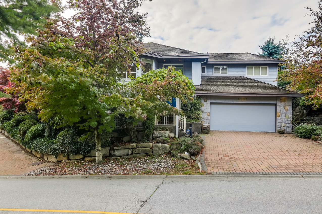 Exterior Front at 4759 Headland Drive, Caulfeild, West Vancouver