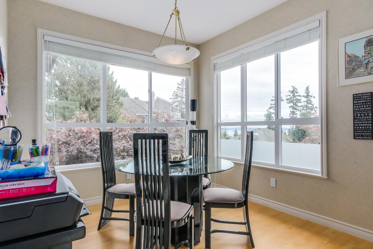 Family Eating Area at 4759 Headland Drive, Caulfeild, West Vancouver