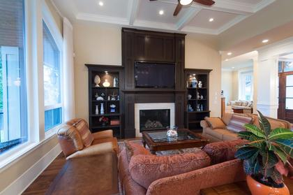 Family Room at 683 Sylvan Avenue, Canyon Heights NV, North Vancouver