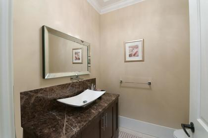 Powder Room at 683 Sylvan Avenue, Canyon Heights NV, North Vancouver