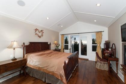 Master Bedroom at 683 Sylvan Avenue, Canyon Heights NV, North Vancouver