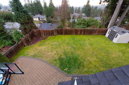 Yard at 683 Sylvan Avenue, Canyon Heights NV, North Vancouver