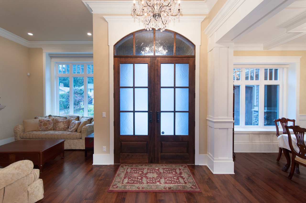 Grand Foyer at 683 Sylvan Avenue, Canyon Heights NV, North Vancouver