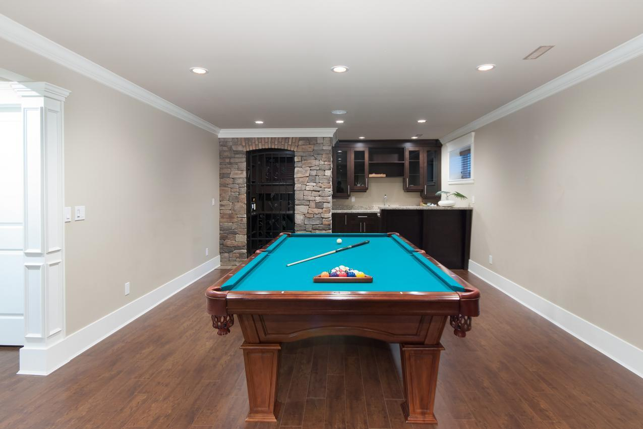 Recreation Room at 683 Sylvan Avenue, Canyon Heights NV, North Vancouver