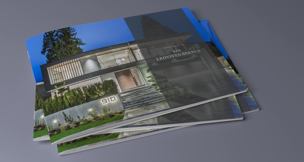 12 PAGE MAGAZINE QUALITY LISTING BROCHURES