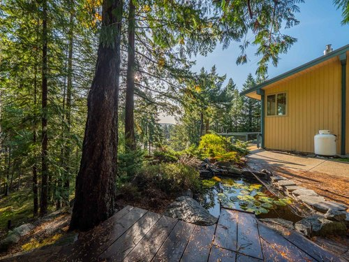 1-yard-to-side-house-pg9d7078-hdr at 4247 Francis Peninsula Road, Pender Harbour Egmont, Sunshine Coast